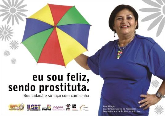 Nanci Feijó - Coordenadora da Associação Pernambucana de Profissionais do Sexo (APPS)